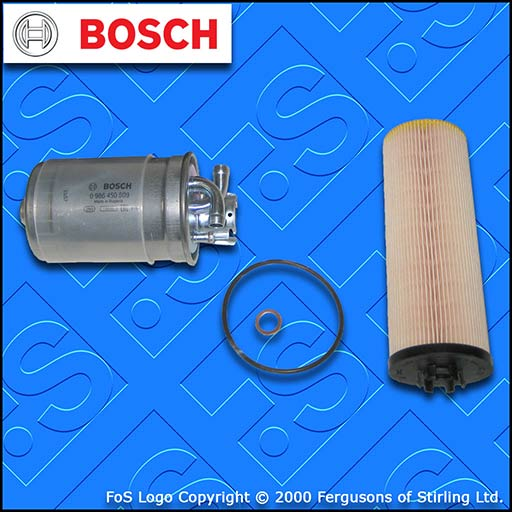 SERVICE KIT for AUDI A8 (D2) 2.5 TDI BOSCH OIL FUEL FILTERS (1997-2002)