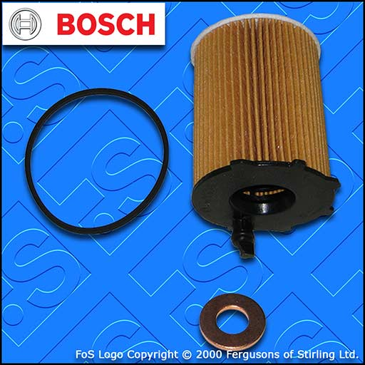SERVICE KIT for TOYOTA PROACE 1.6 D BOSCH OIL FILTER SUMP PLUG SEAL (2013-2016)