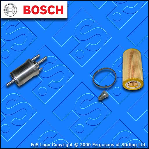 SERVICE KIT for AUDI A3 (8P) RS3 QUATTRO BOSCH OIL FUEL FILTERS (2011-2012)