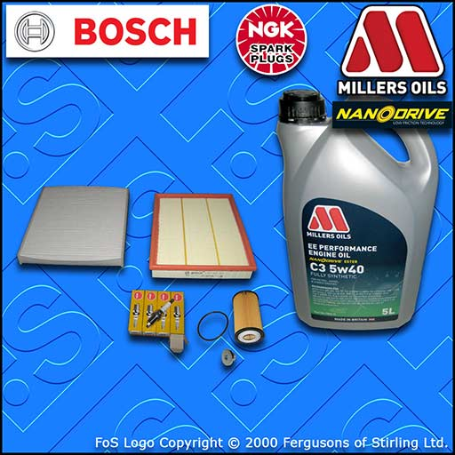 SERVICE KIT OPEL VAUXHALL ZAFIRA B MK2 1.6 A16XER OIL AIR CABIN FILTER PLUG +OIL