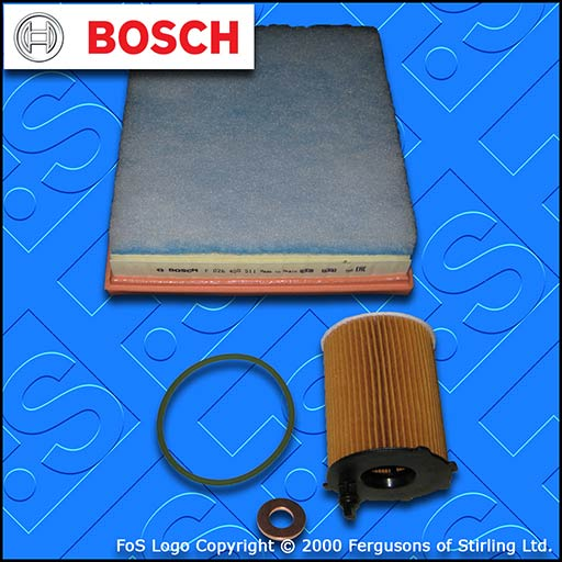 SERVICE KIT for PEUGEOT 301 1.6 BLUEHDI OIL AIR FILTERS (2014-2019)