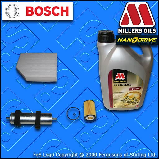 SERVICE KIT AUDI A5 (8F/8T) 2.0 TDI CNH* CSU* OIL FUEL CABIN FILTER +OIL 11-16
