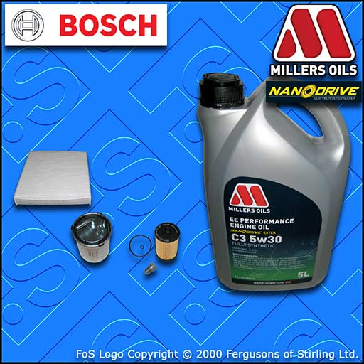 SERVICE KIT SEAT TOLEDO (NH) 1.6 TDI CXMA OIL FUEL CABIN FILTER +OIL (2015-2018)