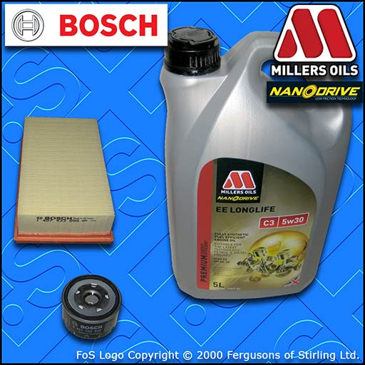 SERVICE KIT for NISSAN MICRA K12 1.5 DCI OIL AIR FILTER +5w30 EE OIL (2003-2007)