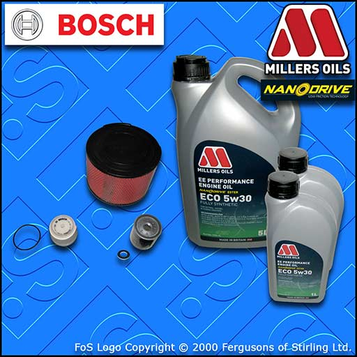SERVICE KIT TOYOTA HILUX 2.5/3.0 D-4D -DPF OIL AIR FUEL FILTERS +OIL (2004-2015)