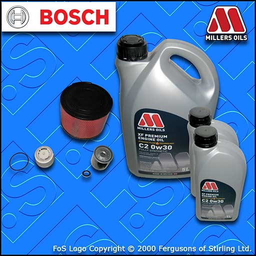 SERVICE KIT TOYOTA HILUX 2.5/3.0 D-4D +DPF OIL AIR FUEL FILTERS +OIL (2011-2015)