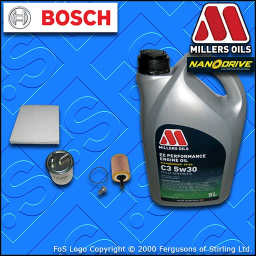 SERVICE KIT SEAT CORDOBA 6L 1.4 TDI BMS BNM BNV OIL FUEL CABIN FILTER +OIL 05-09