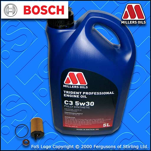 SERVICE KIT for MITSUBISHI ASX 1.6 DI-D OIL FILTER +5L 5w30 LL OIL (2015-2018)