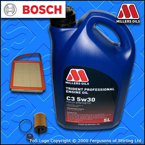 SERVICE KIT for MITSUBISHI ASX 1.6 DI-D OIL AIR FILTERS +5L 5w30 OIL (2015-2018)