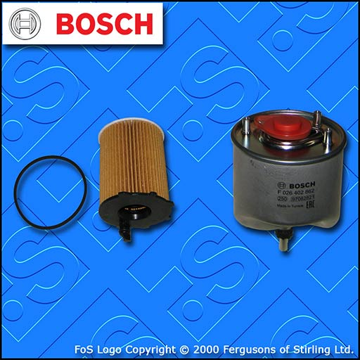 SERVICE KIT for MITSUBISHI ASX 1.6 DI-D OIL FUEL FILTERS SPW (2015-2018)