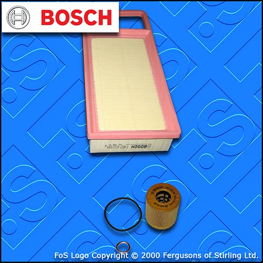 SERVICE KIT for PEUGEOT 407 1.8 2.0 BOSCH OIL AIR FILTERS (2005-2010)