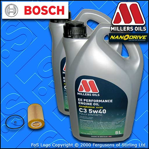 SERVICE KIT MERCEDES S-CLASS (W221) S320 S350 CDI OIL FILTER +5w40 EE OIL 05-10