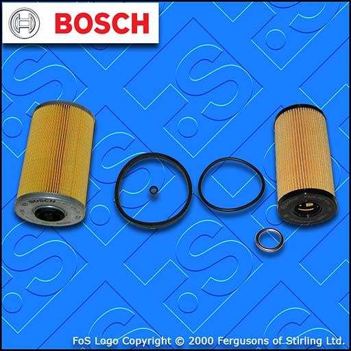 SERVICE KIT for RENAULT TRAFIC II 2.0 DCI E4 OIL FUEL FILTERS (2006-2012)