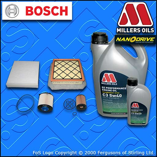 SERVICE KIT VAUXHALL MERIVA B MK2 1.7 CDTI OIL AIR FUEL CABIN FILTERS +OIL 10-12