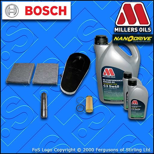 SERVICE KIT BMW 7 SERIES F01 F02 730D 730LD OIL AIR FUEL CABIN FILTER +OIL 08-12