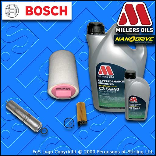SERVICE KIT MINI COUNTRYMAN PACEMAN 1.6 D R60 R61 OIL AIR FUEL FILTERS +NANO OIL