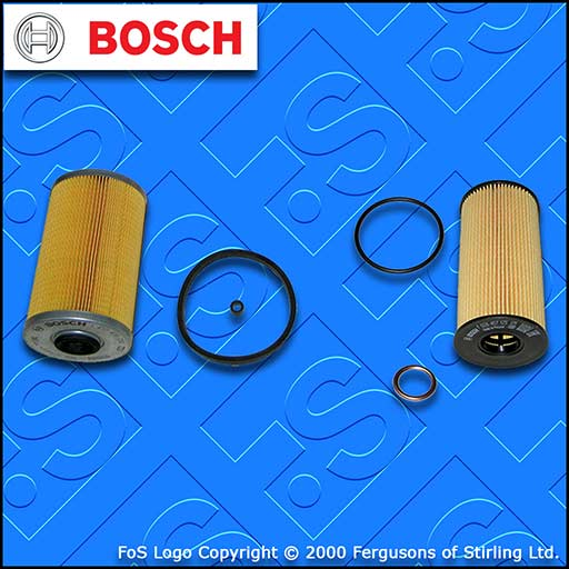 SERVICE KIT for RENAULT TRAFIC II 2.0 DCI E5 OIL FUEL FILTERS (2011-2014)