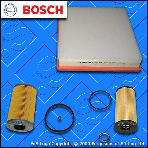 SERVICE KIT for RENAULT TRAFIC II 2.0 DCI E5 OIL AIR FUEL FILTERS (2011-2014)