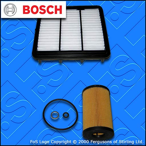 SERVICE KIT for KIA CEE'D (ED) 1.6 CRDI BOSCH OIL AIR FILTERS (2009-2012)
