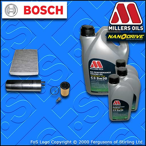 SERVICE KIT VW TRANSPORTER T6 2.0 TDI CX** OIL FUEL CABIN FILTER+OIL (2015-2019)