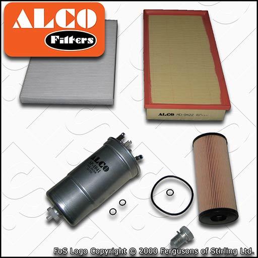 Filter Service Kit Fuel Filter Oil Sump Plug Oil Filter Air Filter