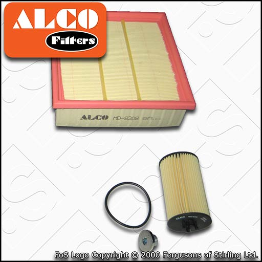 2006-2014 SERVICE KIT for VAUXHALL CORSA D 1.2 A12XEL A12XER OIL FILTER PLUGS