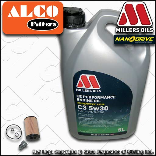 SERVICE KIT for AUDI Q3 (8U) 2.0 TDI CF* CL* ALCO OIL FILTER with OIL 2011-2016