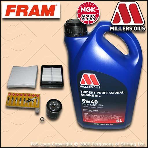 SERVICE KIT for OPEL VAUXHALL ASTRA G MK4 1.6 16V OIL AIR FUEL CABIN FILTER PLUG